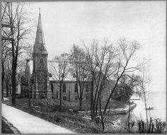 Skaneateles NY St. James Episcopal Church 1920's