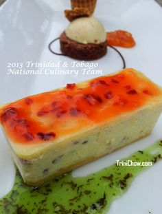 Trinidad & Tobago National Culinary Team practice lunch