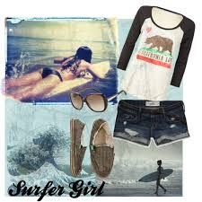 Image result for surfer girl looks