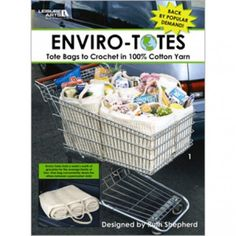 Enviro-Totes crochet Tote Bags