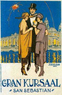 Art Deco Illustrations by Rafael de Penagos