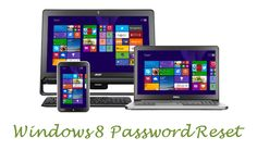 How to Reset Forgotten Windows 8 Picture/ PIN/ Text Password?