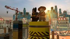 Batman and Gandalf appear in 'The Lego Movie,' also seen here exclusively in the upcoming video game (Photo: Warner Home Video Games)