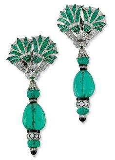 Emerald Earrings Fred Leighton