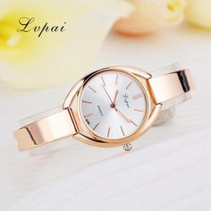 Rose Gold Luxury Women Watches