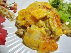 Scalloped Potato and Ground Beef Casserole