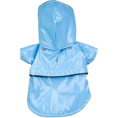 Baby Blue Pvc Waterproof Adjustable Pet Raincoat * See this awesome image  : Dog coats