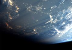 Since arriving at the International Space Station a few months ago, astronaut and geophysicist Alexander Gerst has captured the beauty of our planet with his camera. Most of his photos are of geometric oil fields, massive craters, and well-lit cities. But the most eye-catching of all are of dense cloud formations that cast thousand mile-long […]