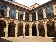 """""""I spent my first morning in Bologna sloping in and out of the shadows of the porticos with no real direction"""" by @journeytom"""