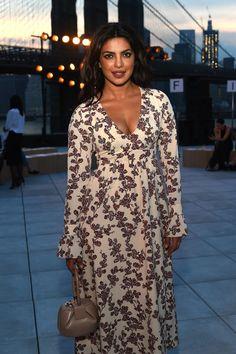Priyanka Chopra at Thakoon - The Best Front Row Fashions at New York Fashion Week Spring 2017  - Photos