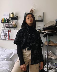 Forgot to post this from Tokyo. It me, stealing Mayas clothes Mode Outfits, Retro Outfits, Grunge Outfits, Trendy Outfits, Fall Outfits, Fashion Outfits, Up Girl, Mode Inspiration, Looks Style
