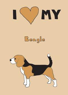 i <3 my beagle