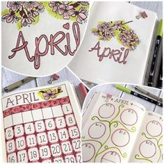 Bullet Journal – Apr