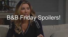 """""""The Bold and the Beautiful"""" spoilers for Friday, January 8, tease that Steffy (Jacqueline MacInnes Wood) will open up to Wyatt (Darin Brooks) about..."""
