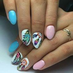 30+ Easy & Simple Gel Nail Art Designs 2018