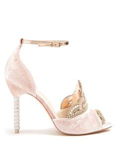 6d284000d979b  sophiawebster  shoes   Pink Sandals