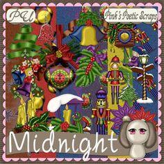 Pink's Poetic Scraps: Midnight Blog Train