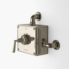 Exposed Thermostatic Valve with Metal Lever Handles — Products | Waterworks
