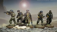 Agis Page of miniature painting and gaming - Legion Star Wars Figurines, Star Wars Toys, 40k Armies, Sci Fi Miniatures, Imperial Assault, Star Wars Models, Dark Star, Jungle Theme, Cool Toys
