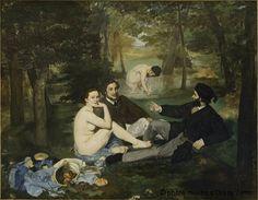 Edouard Manet  Le déjeuner sur l'herbe
