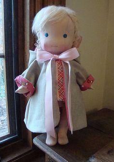 Custom handmade doll by Mon Petit Frere