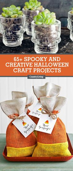 40+ Quick and Easy DIY Halloween Decorations Creepy, Decoration - halloween craft decorations