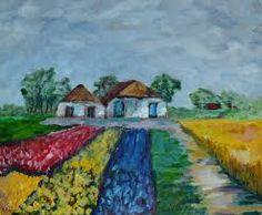 Arie Zuidersma (1925-2014) -Schilderijen van Arie Zuidersma zijn zeer herkenbaar en het is duidelijk dat de schilder stijlmiddelen heeft ontleend aan de impressionistische en expressionistische stijlen als zijn voorgangers in De Ploeg.