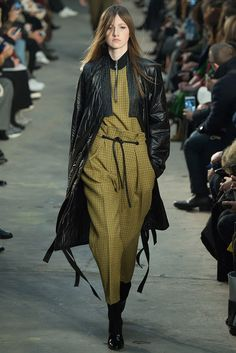 #3.1PhillipLim #FW2016_17 #NWFW #NewYork #Catwalk #readyToWear #trends #baggy #checkered #capri