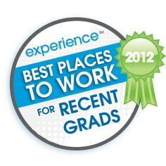 2012 Best Places to Work for Recent Grads