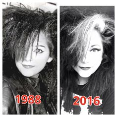 Then and now. Me 28 years apart.