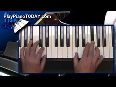 """Blues Piano Lessons - The """"Full Chord Slide"""" - YouTube"""