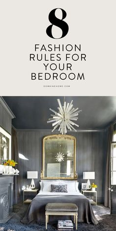 Bring your fashion palette into the bedroom