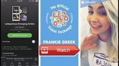Lolla Emerging Artists Playlist by Frankie Greek The Official Lollapalooza Ticket Exchange  Festival correspondent Frankie Greek shares her 17 Top 1 Lollapalooza Emerging Artists playlist including when and