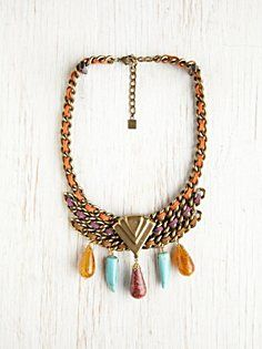 Amalia Stone Drop Collar