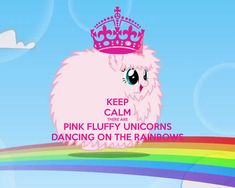 pink fluffy unicorns dancing on rainbows - Yahoo Image Search Results