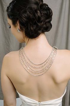 The Left Bank Jewelry & Bridal Finery - Sara Gabriel Angela Necklace- bridal jewelry, bridal necklace