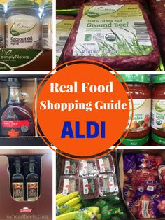 Real Food Shopping Guide for ALDI - My Heart Beets @myheartbeets