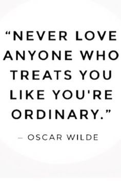 Because you're extraordinary!