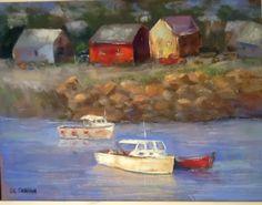 Pidgeon Cove ,pastel $250  9x12
