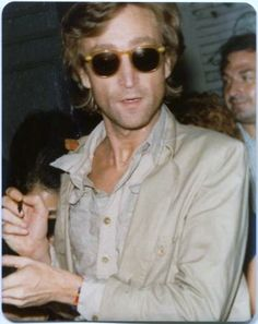john lennon, 1980, I think today, 3/20 would have been he and Oko's 40th anniversary....will check facts later.