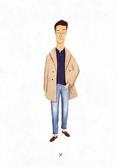 styleillustrated:  mr. Weekender