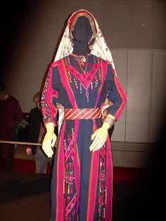 Folk Costume, Costumes, Arab World, Palestinian Embroidery, Embroidery On Clothes, Traditional Dresses, Palestine, Fashion History, Bridal Dresses
