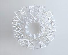 Amazing paper folding/cutting art from Matt Shlian