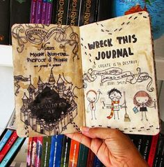 Wreck this journal HP style