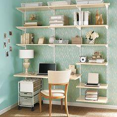 Sand & White elfa Office
