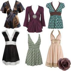 Dresses for Apple Shaped Women | Found on ligwascurvyworld.wordpress.com