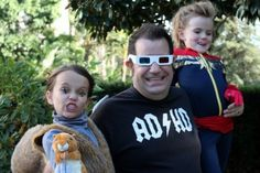 "John Marcotte with his daughters, WYSKettes Anya & Stella. ""My girl is no princess. She doesn't need to be rescued. She is the hero of her story. And no one better forget it."""