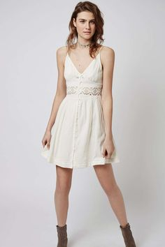 Crochet Detail Sundress - Dresses - Clothing - Topshop