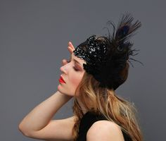 extravagant headband - roaring twenties glam