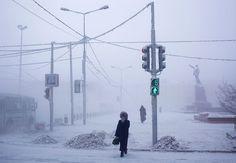 Ville la plus froide du monde #russia
